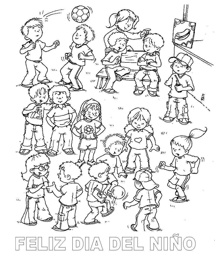 Dorable Página Para Colorear De Comunidad Regalo - Enmarcado Para ...