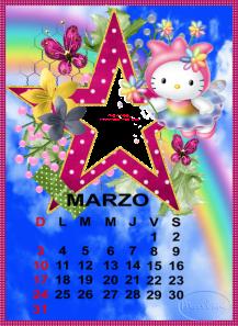 calendario de marzo10
