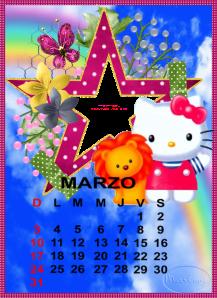 calendario de marzo11