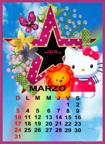 calendario de marzo12