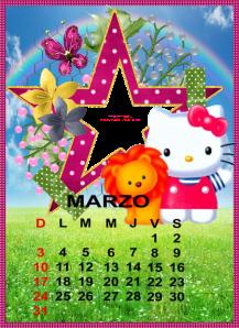 calendario de marzo13