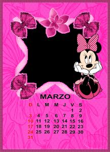 calendario de marzo2