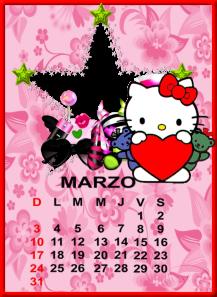 calendario de marzo7