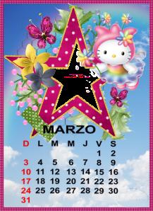 calendario de marzo8