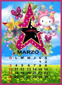 calendario de marzo9