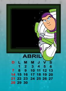 calendario de abril11
