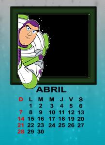 calendario de abril12