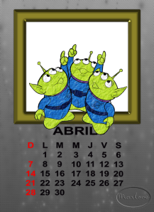 calendario de abril15