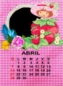 calendario de abril2